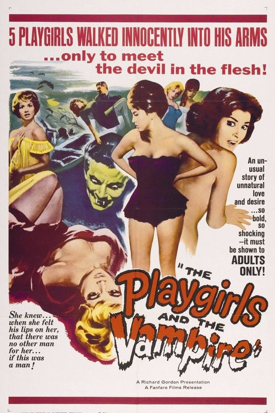 The Playgirls And The Vampire 1960 Vampire Movies Movie