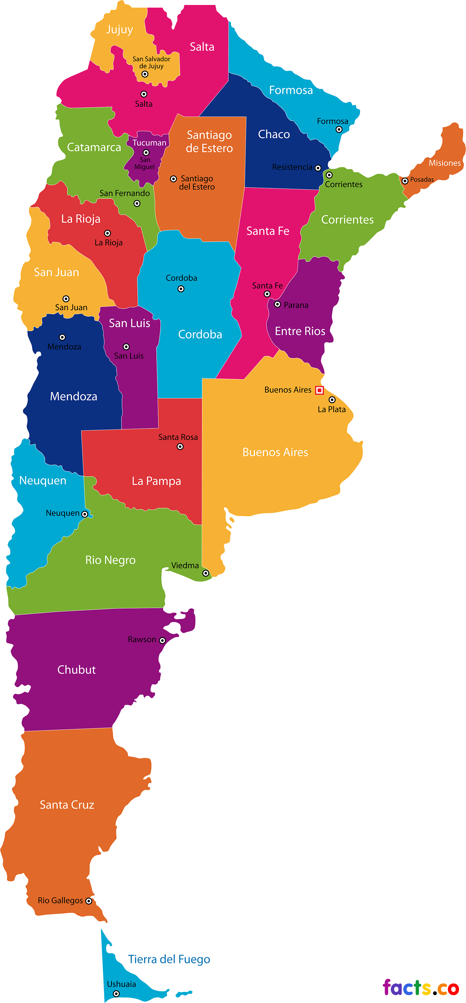 Maps Of Argentina maps of argentina   Google Search | 180 with in 2019 | Argentina