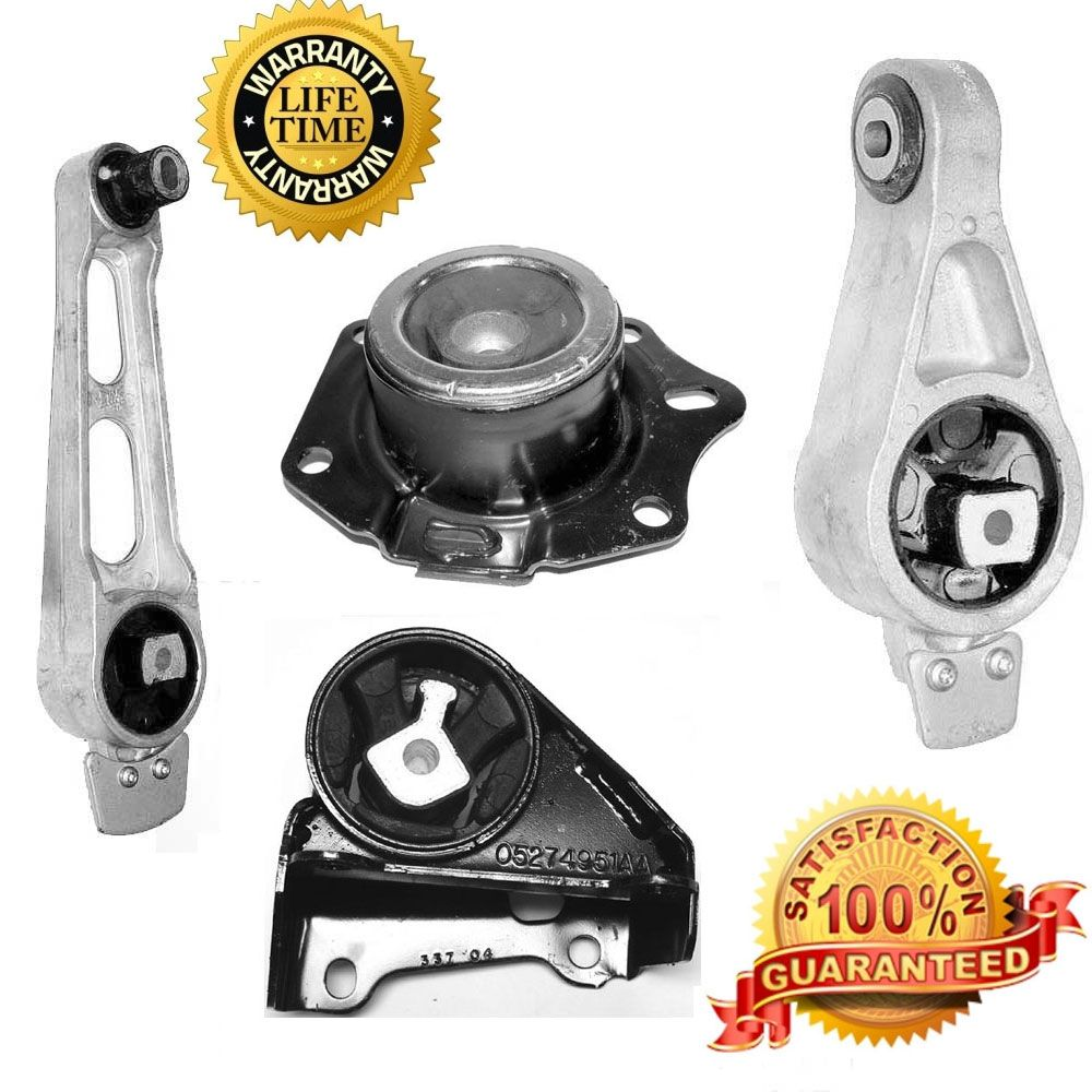 20002005 Dodge Neon 4pc manual trans and motor mount kit