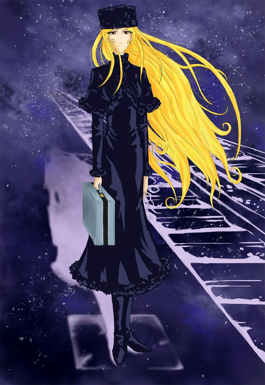 Curious galaxy express 999 maetel join. happens