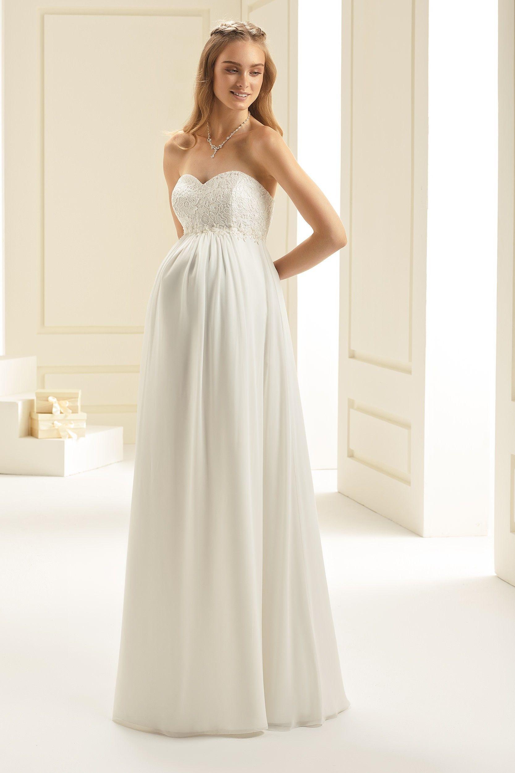 Mariée Femme Spéciale Bianco EnceinteRobes Robe De Mariées 34RL5cqAj