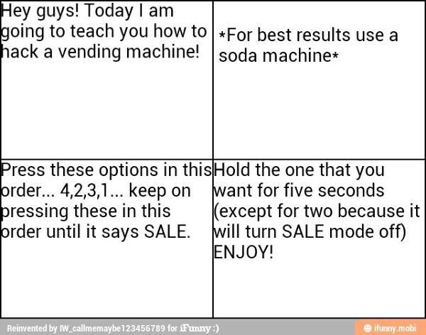 Vending machine hack | Life hacks | Vending machine hack, Life hacks
