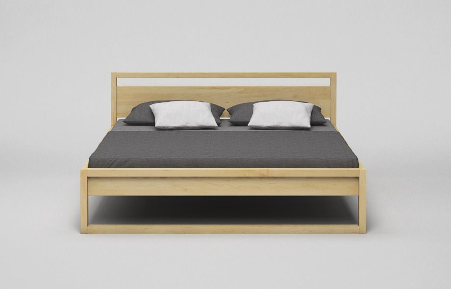 Kufenbett B44 Massiv Mit Hohem Kopfteil Bett Diy Bett Mobeldesign