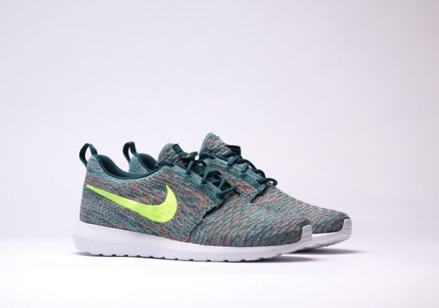 7c0cabb553cc4 Best Sneakers   Nike Roshe Run Flyknit – Mineral Teal   Dark Atomic – Green  -