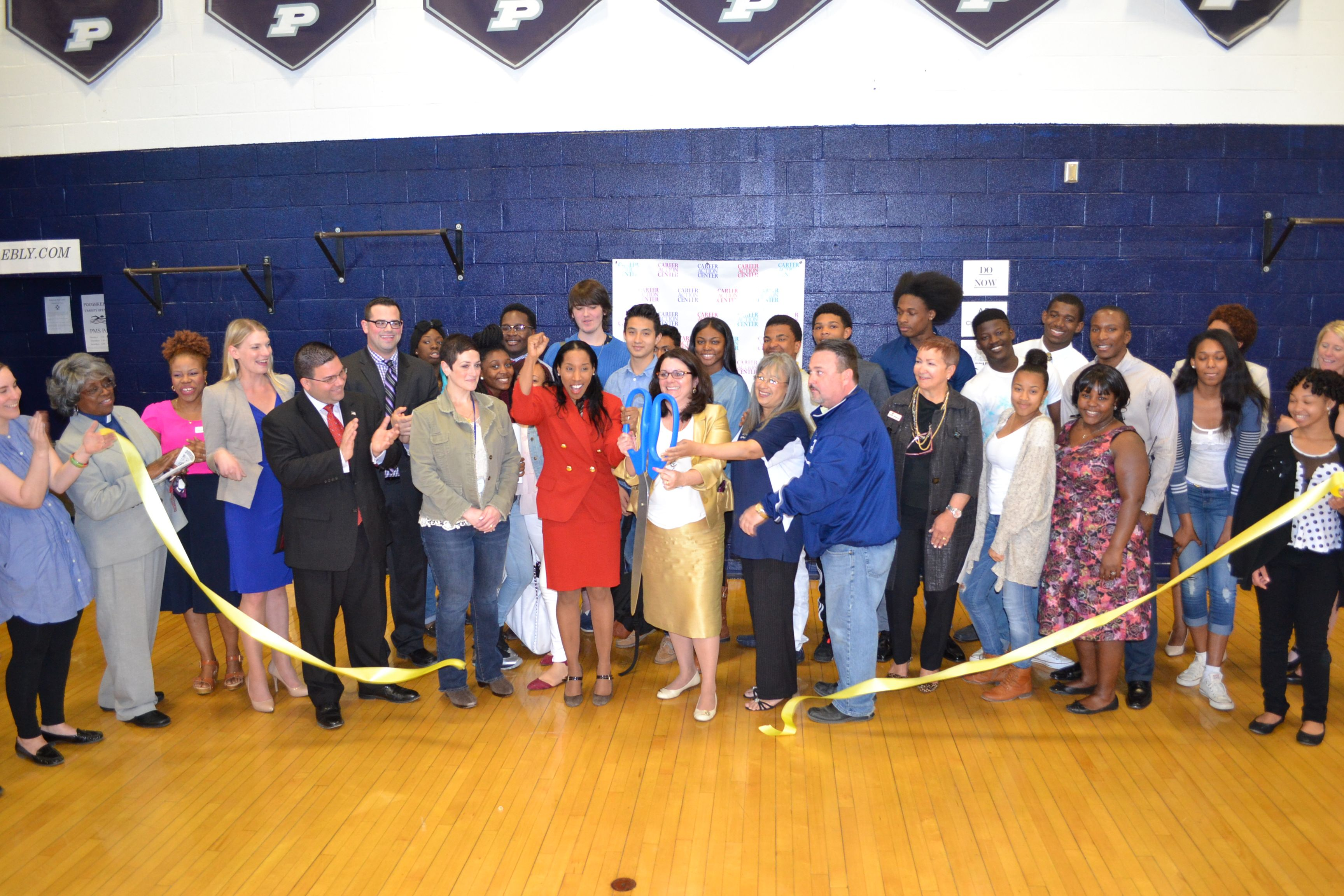 Congratulations to Poughkeepsie High School on the opening of its Career Fair!