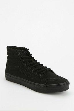 206b5debbb39bd Vans Sk8-Hi Total Black Women s High-Top Sneaker