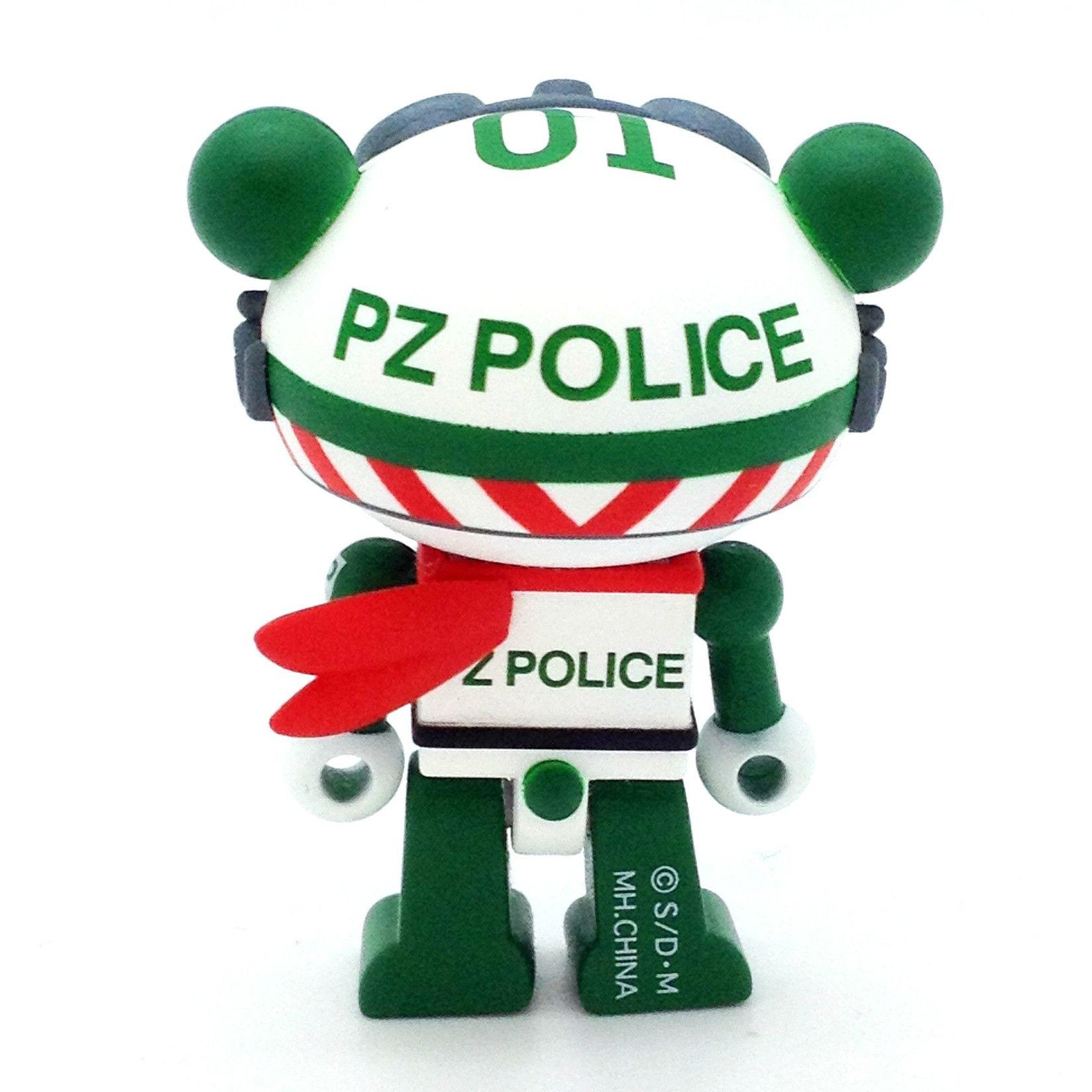 Panda Z Robomination - PZ Police - 01 (Version 1) - Mindzai  - 2