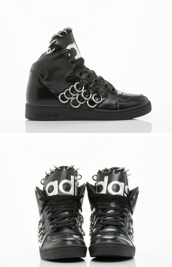 best sneakers 91d2b d2694 Shoes Sneakers · INSTINCT HI RING MENS BY ADIDAS ORIGINALS X JEREMY SCOTT  ( 350) Leather upper,