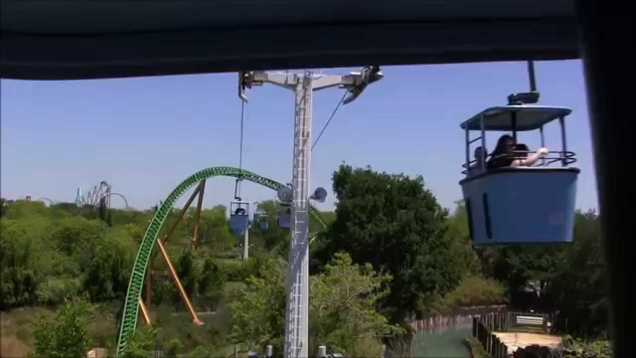 Get A Birdu0027s Eye View Of A Large Portion Of Busch Gardens In Tampa, Florida  When You Ride The Sky Ride. You Will See African Animals, Many Of The Rides  And ...