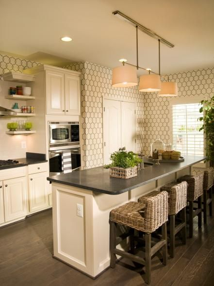Amazing Designs From Showhouse Showdown Modern Kitchen Wallpaper Kitchen Design Kitchen Wallpaper