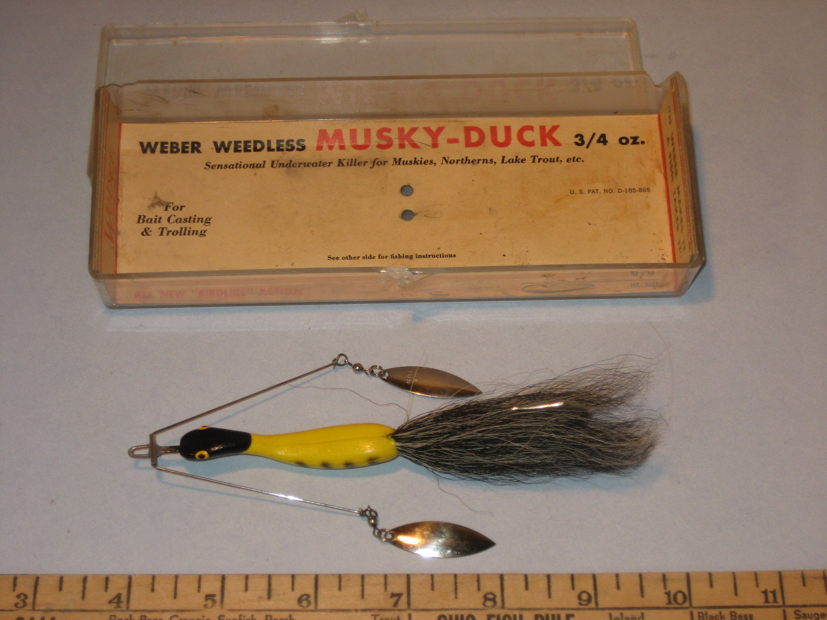 Musky duck fish pinterest fishing lures and for Duck fishing lure
