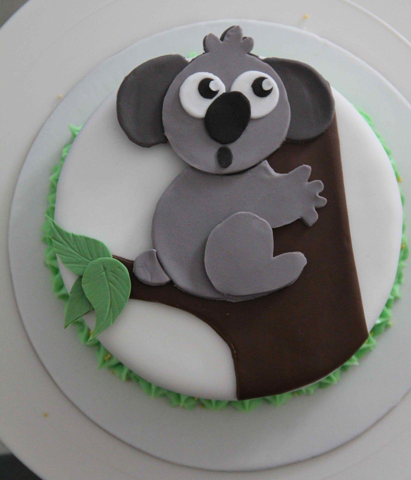 Koala Cake More At Recipinscom Koala Party In 2019 Cake