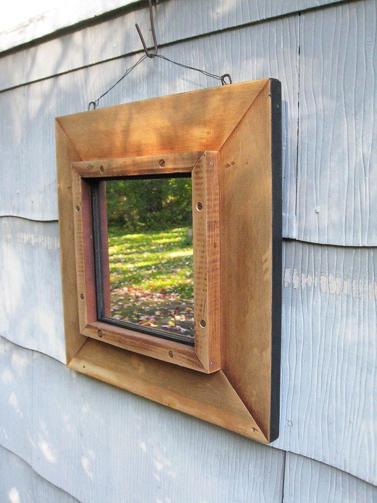 Medium Rustic Mirror Timber Mirrors Pinterest