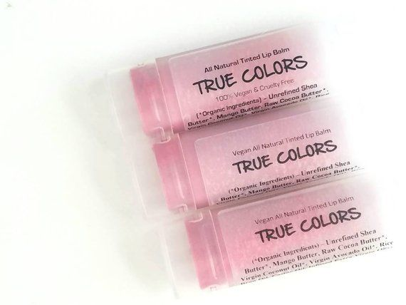 Azalea Flowers - All Natural Soft Pink Lip Tint - Unscented. Vegan