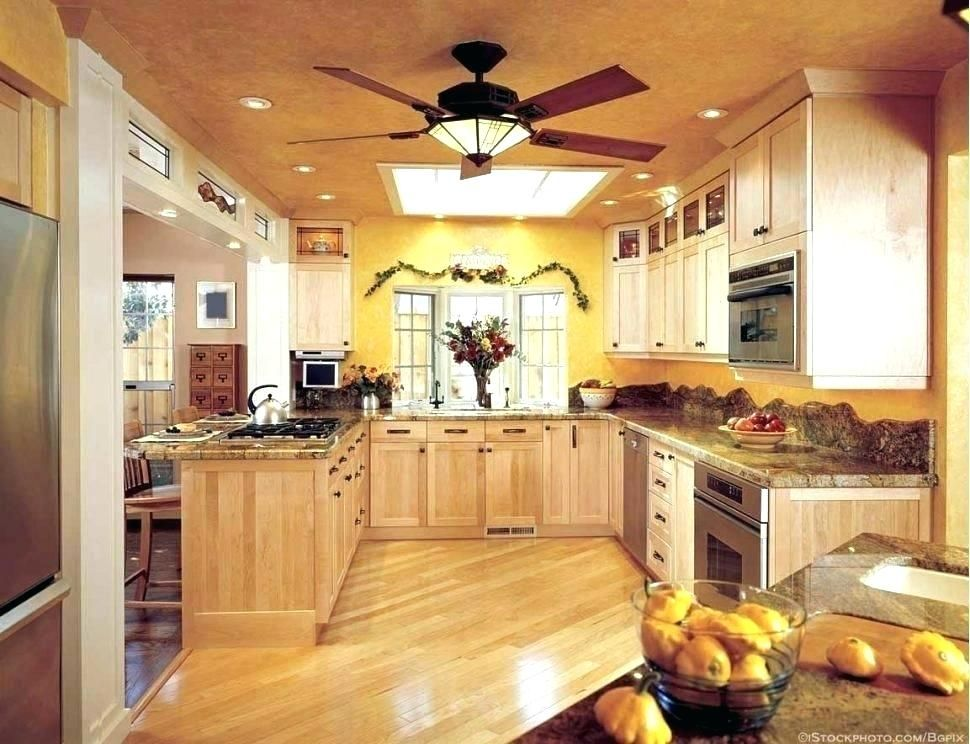 Ideal Size Kitchen Fans Guide In 2020 With Images Ceiling Fan