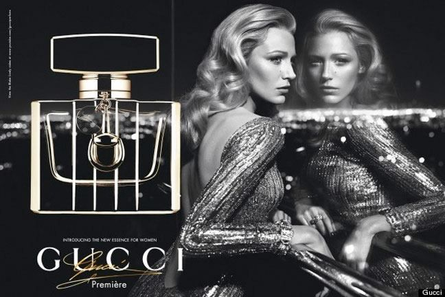 Blake Lively for GUCCI — The Purple Window | Fragrance ad, Perfume ad,  Blake lively