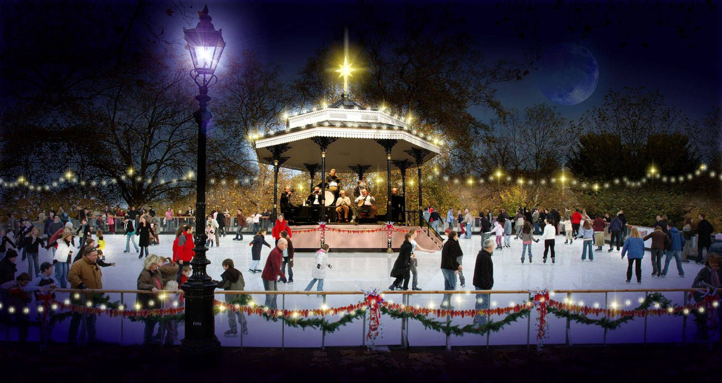 ice skating rinks ice rink hyde park london 300x159 top