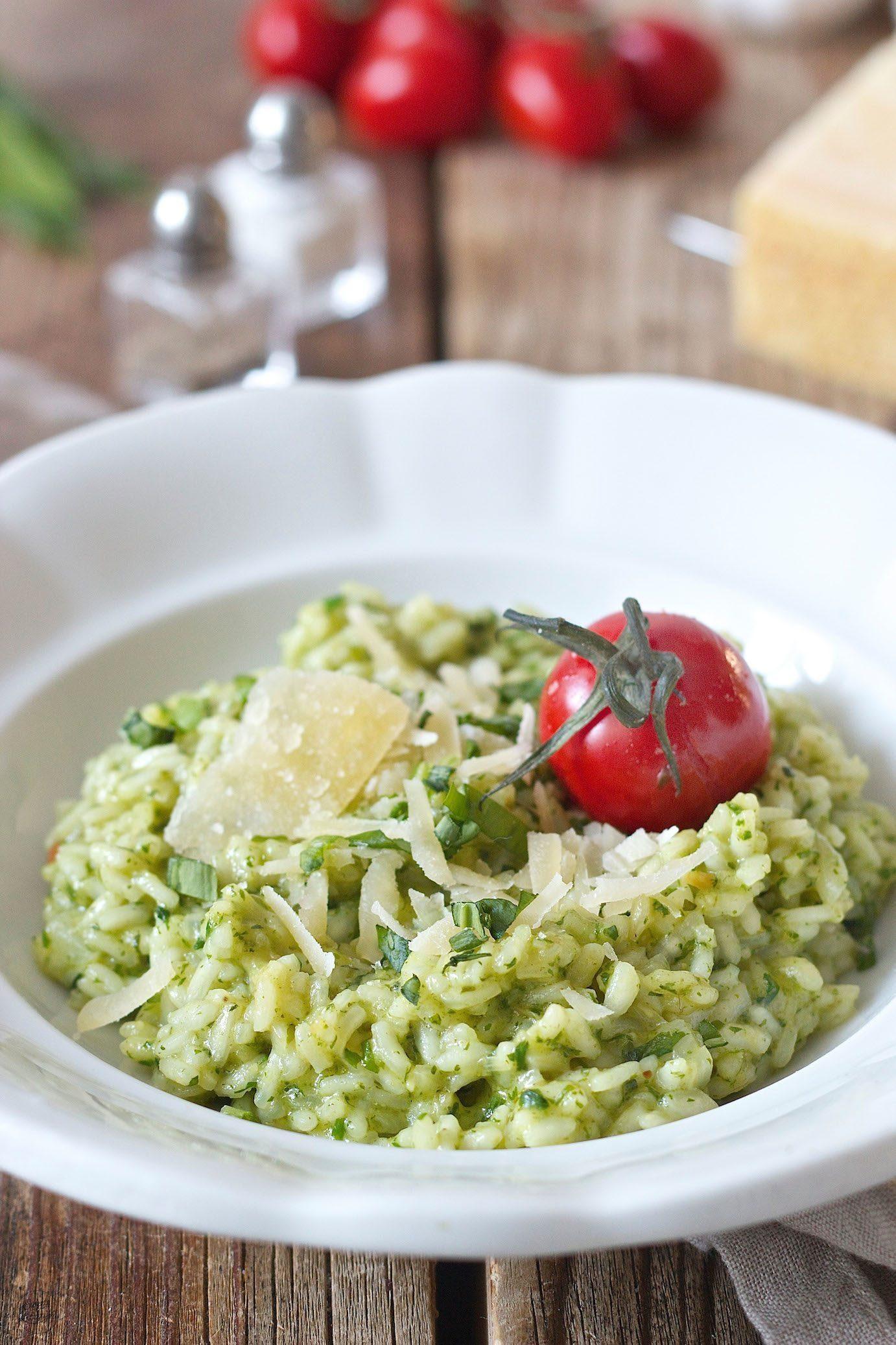 Photo of Creamy wild garlic risotto – recipe – Sweets & Lifestyle®
