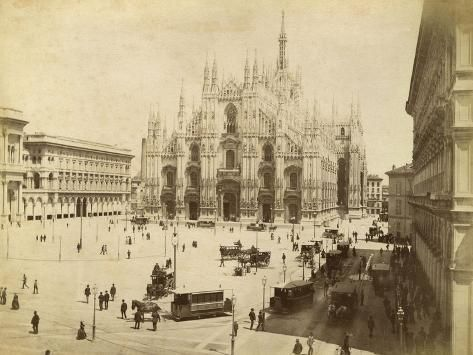 size: 24x18in Photographic Print: Italy Milano :