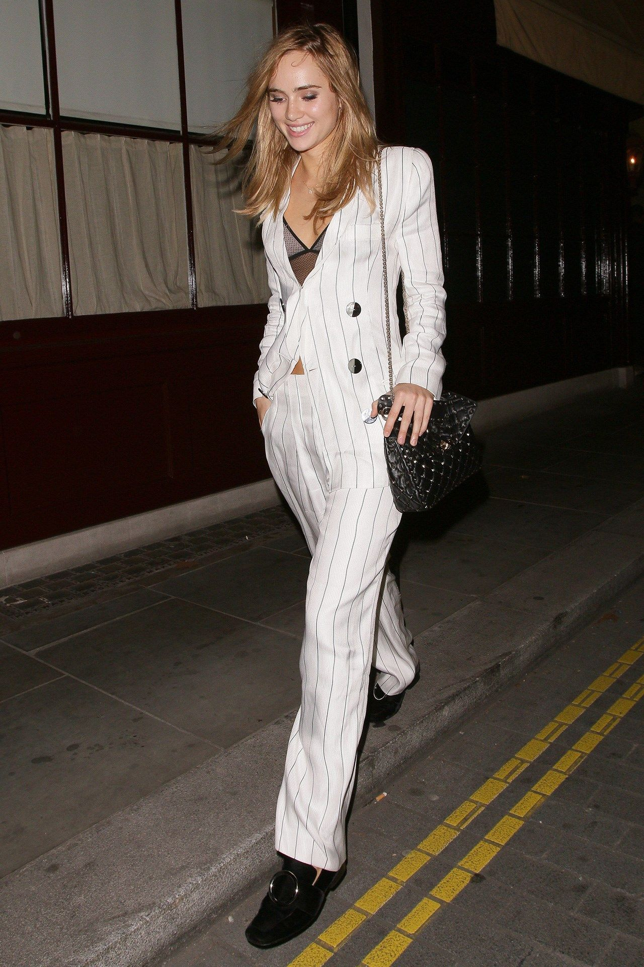 images Suki Waterhouse Goes From Granny Chic to Majorly Glam