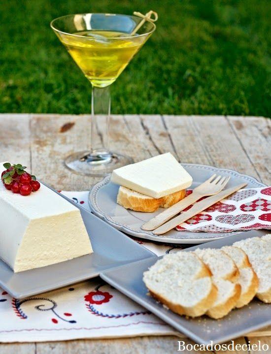 Mouse de queso de cabra bocadosdecielo cocina - Cocina navidena espanola ...