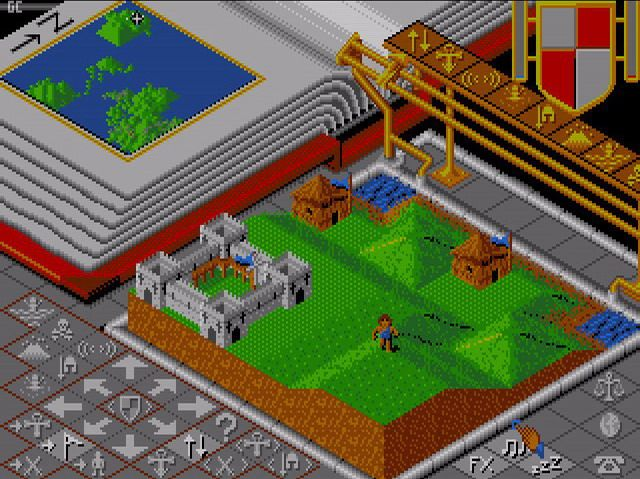 Populous - Bullfrog - Peter Molyneux - Atari ST - 1989 | Video Games
