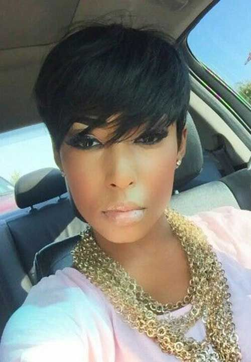 Terrific Shorts Hairstyles 2016 And Black Women On Pinterest Hairstyle Inspiration Daily Dogsangcom