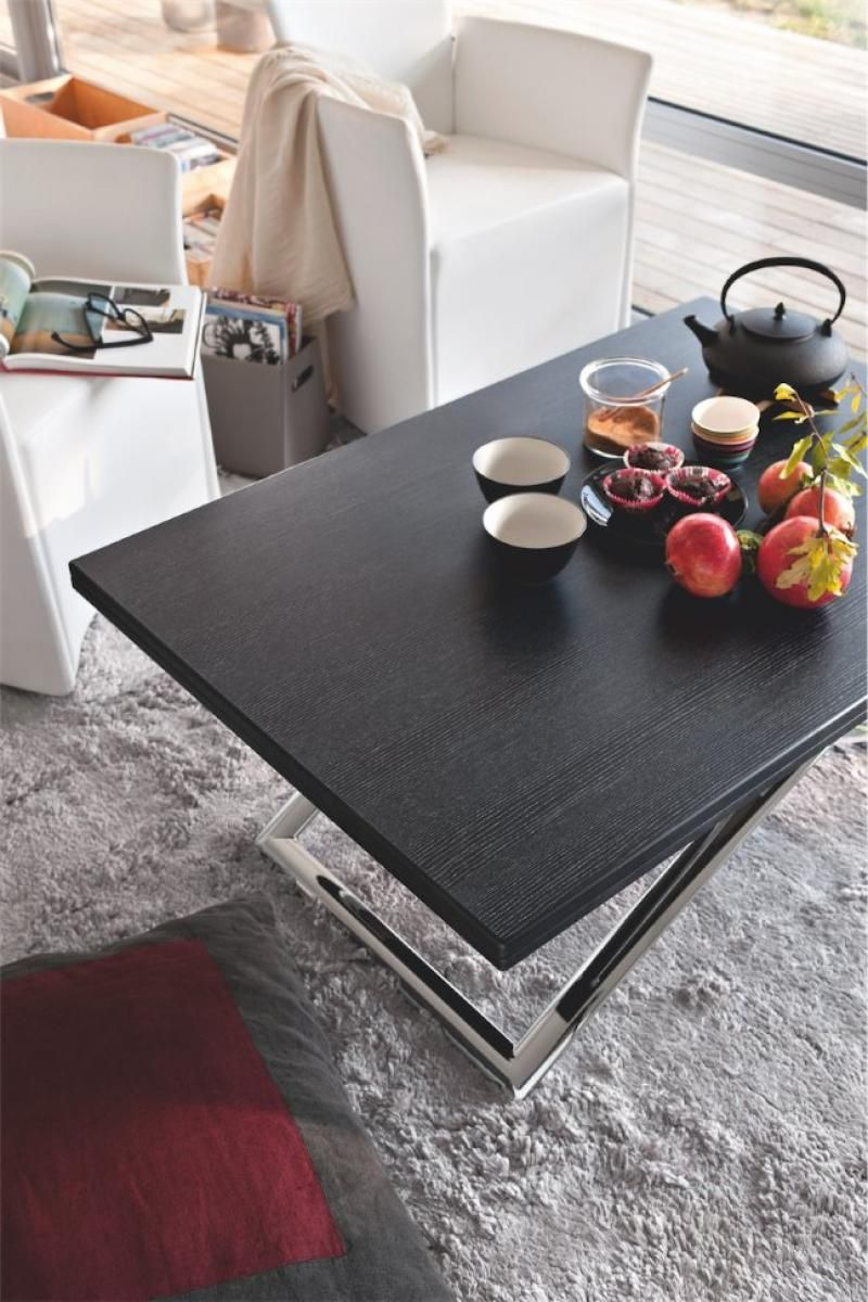 Calligaris magic j multi function coffee table with a wood
