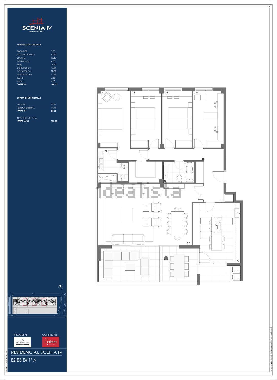 5d2c04b31df5a Imagen Plano de piso en calle el Sombrero de Copa s n