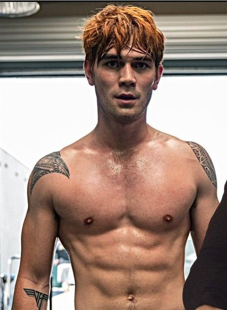 Riverdale Stars KJ Apa & Cole Sprouse Go Shirtless in