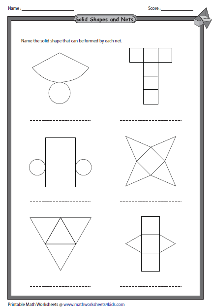 Solid 3d Shapes Worksheets Shapes Worksheets Geometry Worksheets 3d Shapes Worksheets