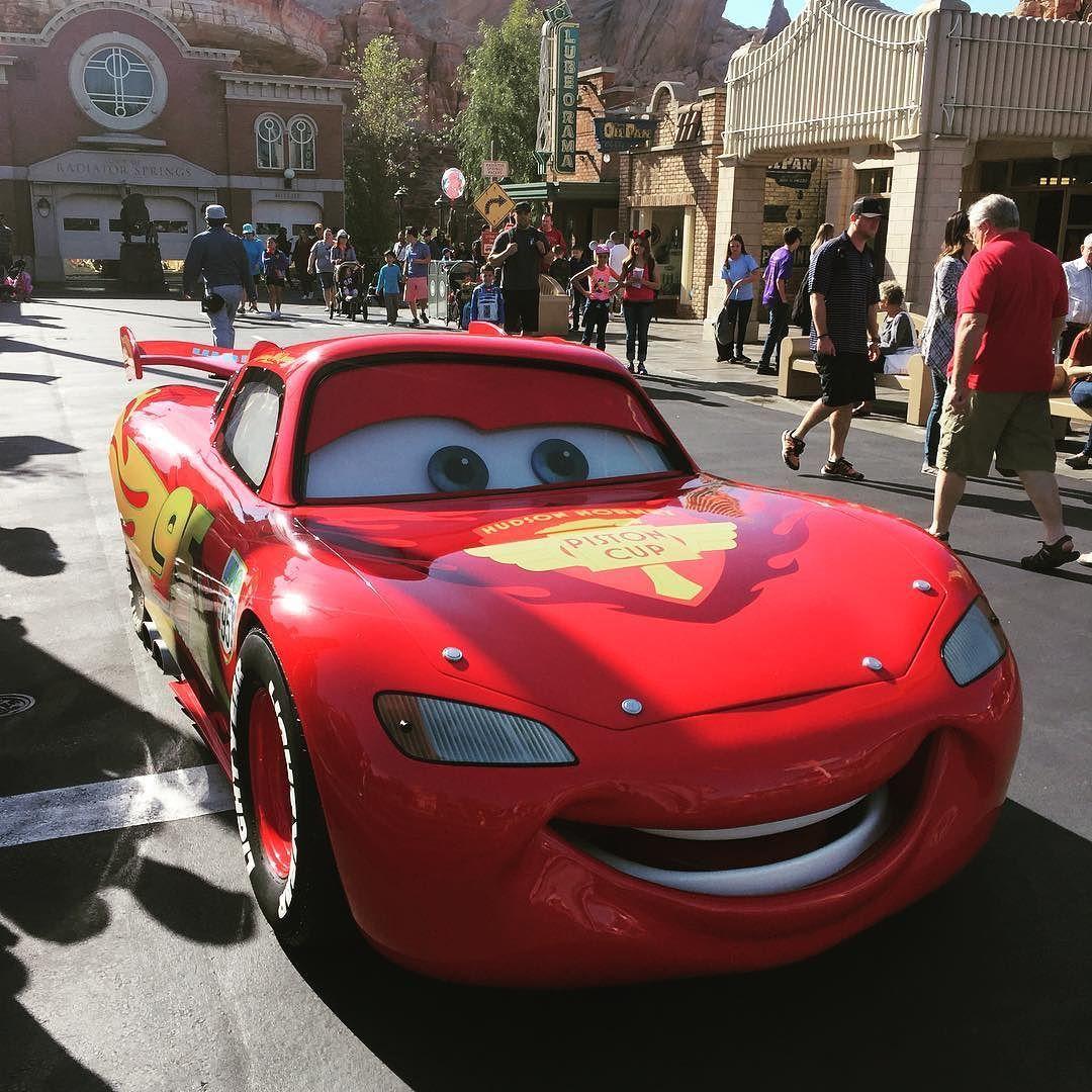 Here comes my ride.  #californiaadventure #disneyland #anaheim #California #ervinstraveldiary #cars by epingz