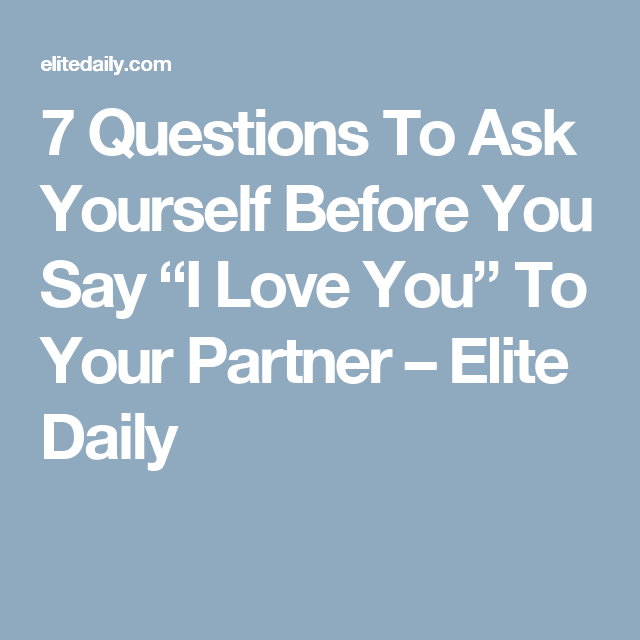 Elite daily dating questions
