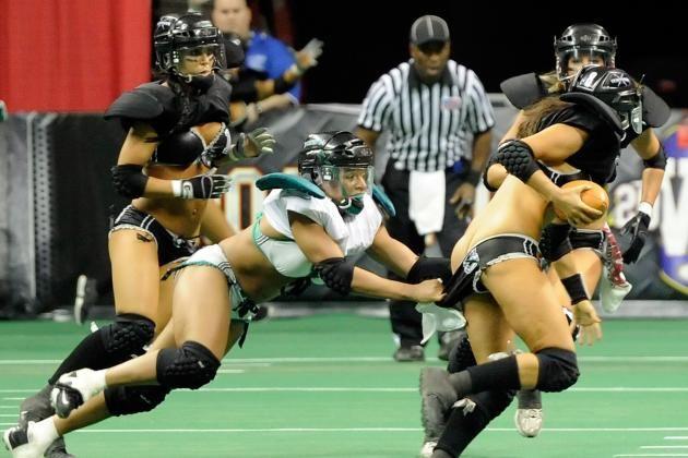Valuable women football lingerie league