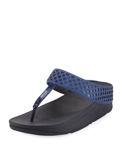 87a66945c Safi Leather Platform Sandal Fitflop