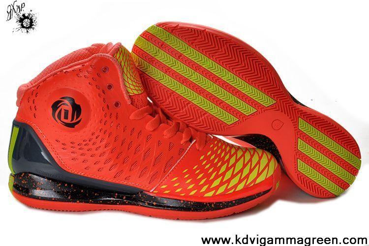 Low Price Max Orange Black Yellow Adidas AdiZero Derrick Rose 3.5 Your Best Choice