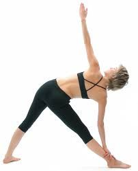 triangle in parallel yoga  google search to stretch tfl