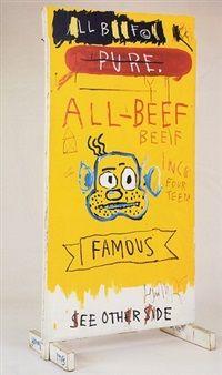 All beef by Jean-Michel Basquiat