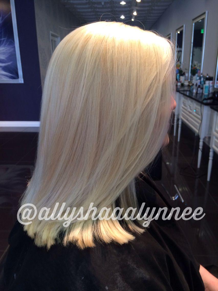 Dimensional platinum blonde!!