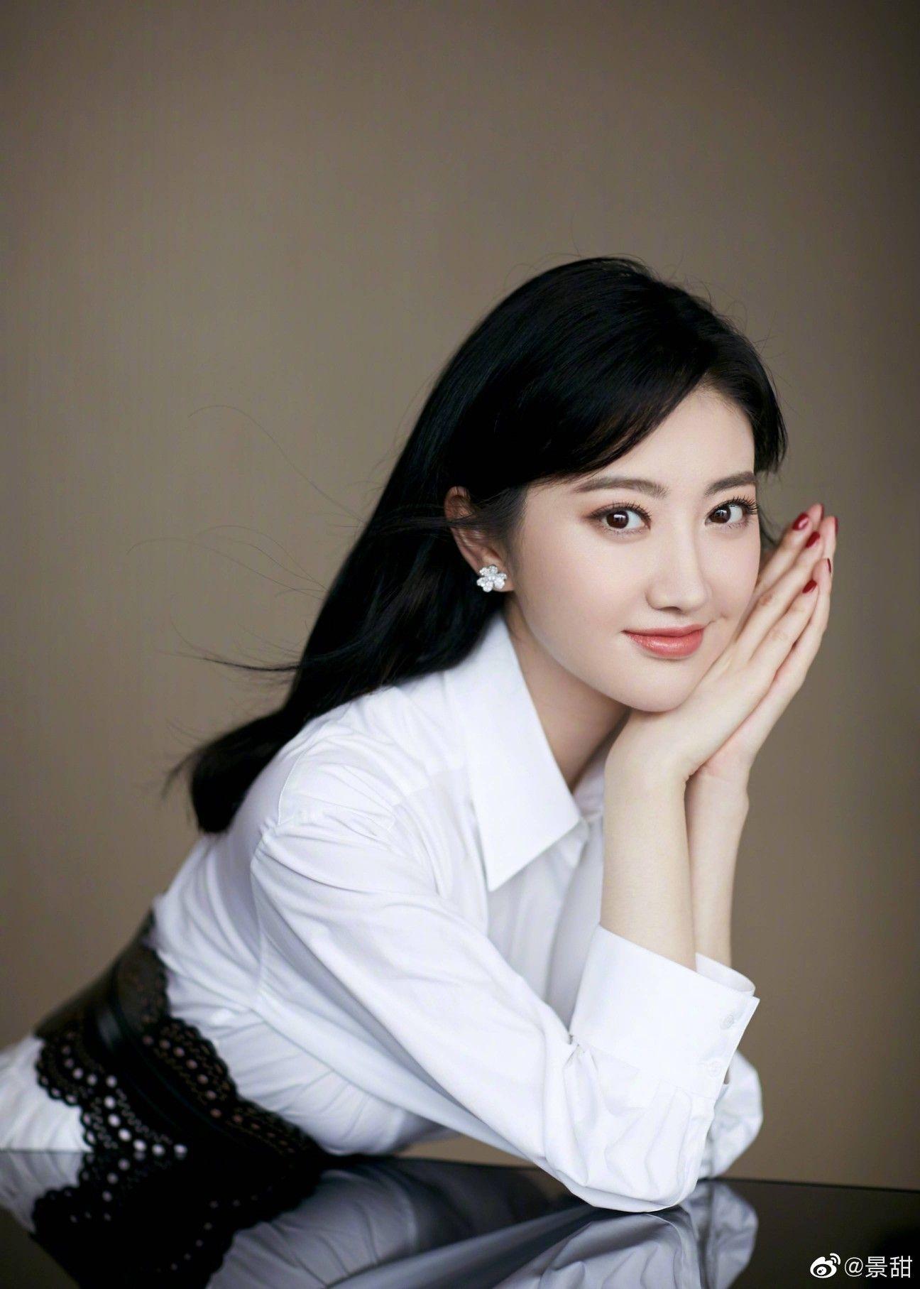 Pin oleh Sk k2528 di Jing Tian(จิ่งเถียน) Wajah, Wanita