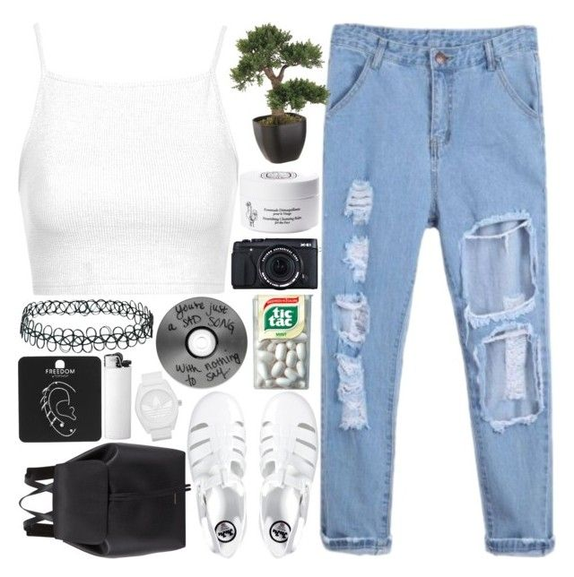 """""""RUNNING WILD"""" by a-dventurous ❤ liked on Polyvore featuring Topshop, Diptyque, JuJu, Mansur Gavriel, adidas and TalisLittleTag"""