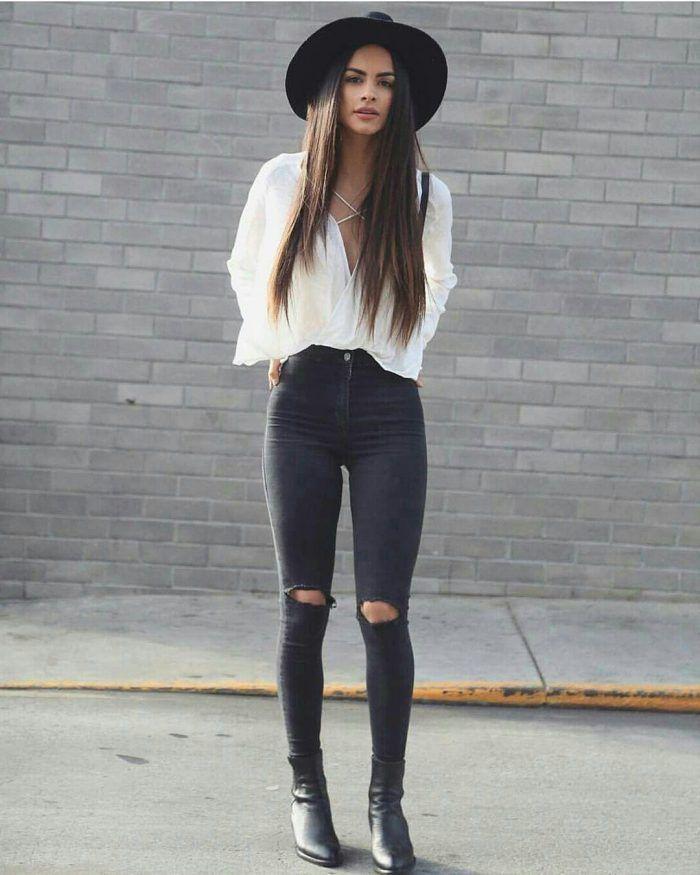 Estilo original de moda hipster para mulheres   - mode -