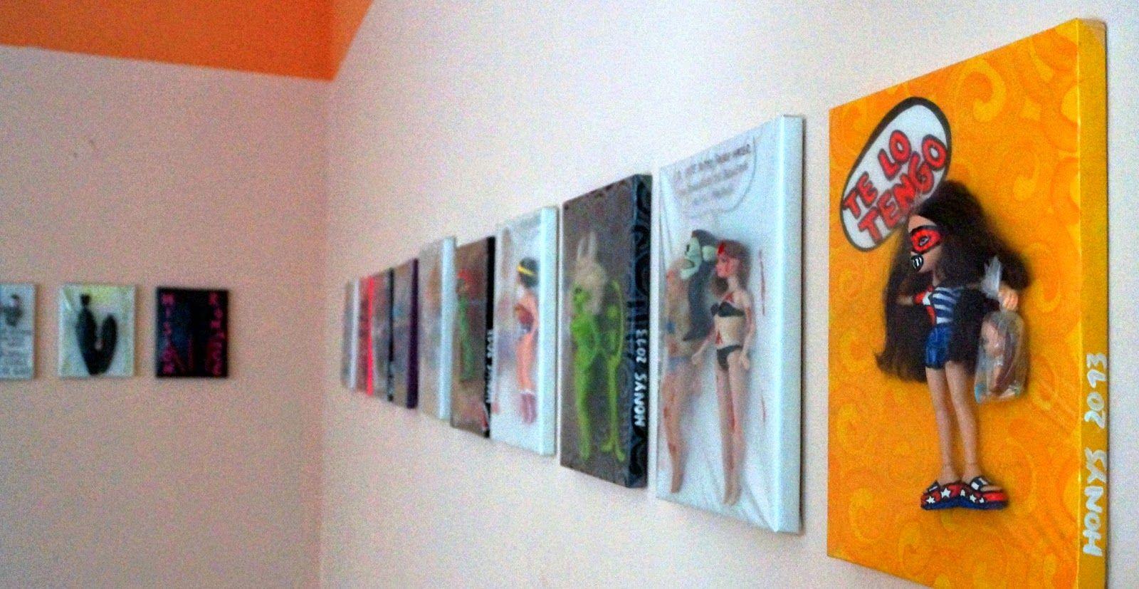 Honys Torres Artista Neo POP: Estereotipos en paquetes II