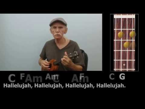 how to play the song hallelujah on guitar