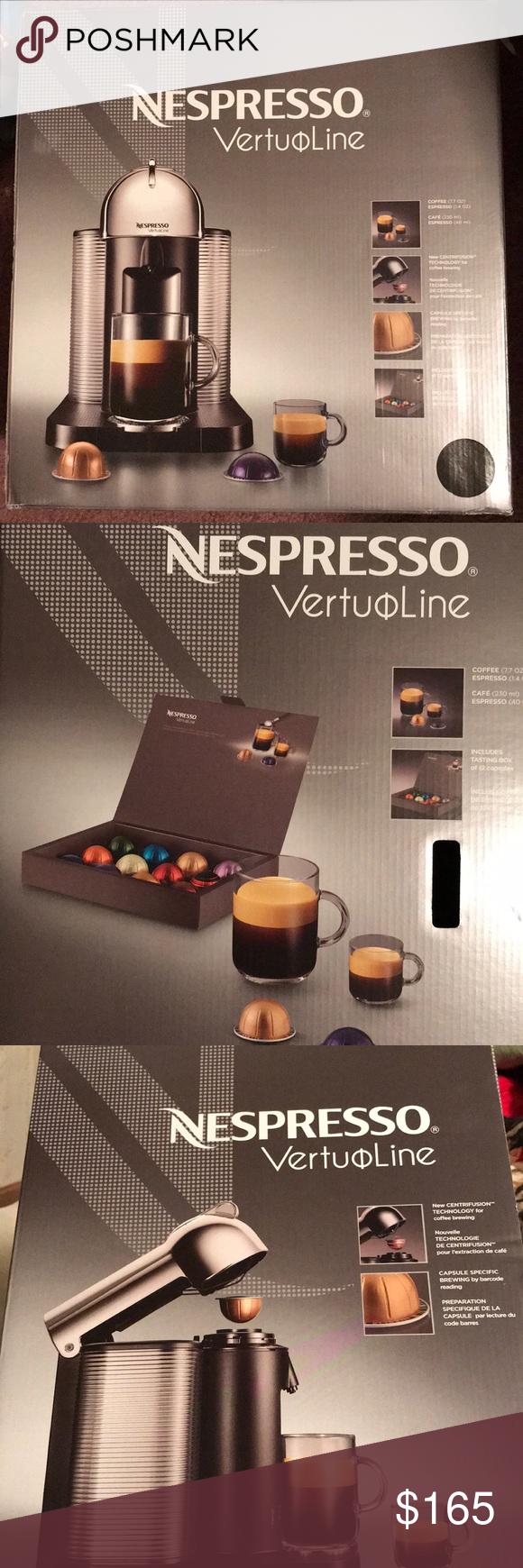 Nespresso VertuoLine coffee maker, nib. Nespresso