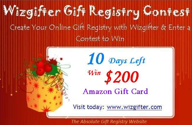 don t miss to win 200 amazon com gift card create gifts list with