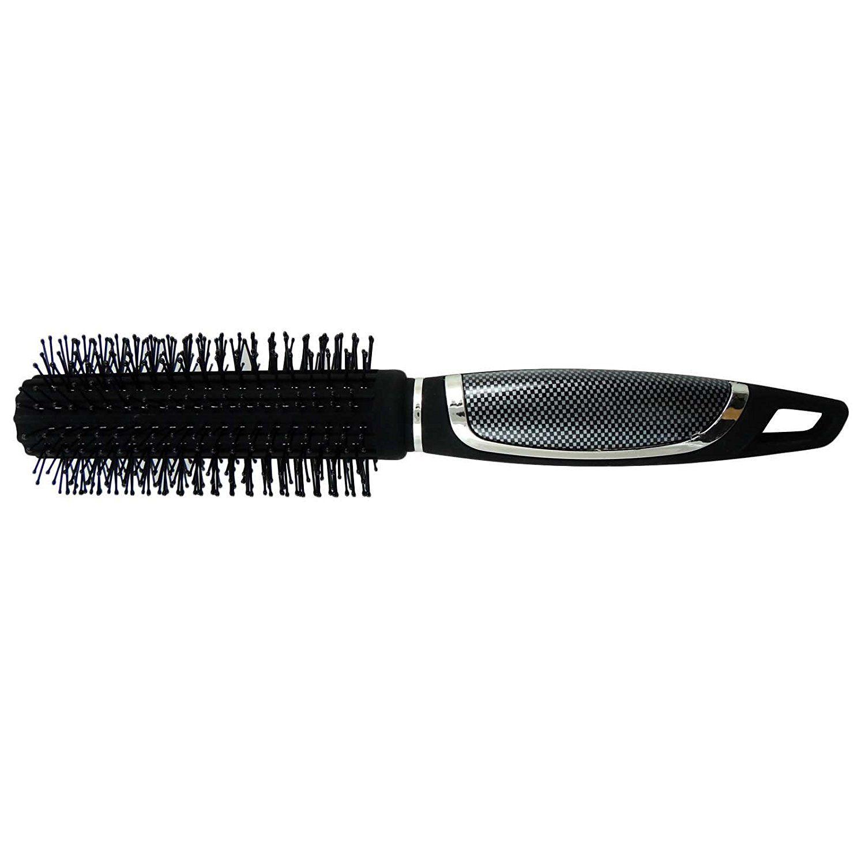 Babila Fine Round Hair Brush Unisex Hairstyle Comb Blow Drying