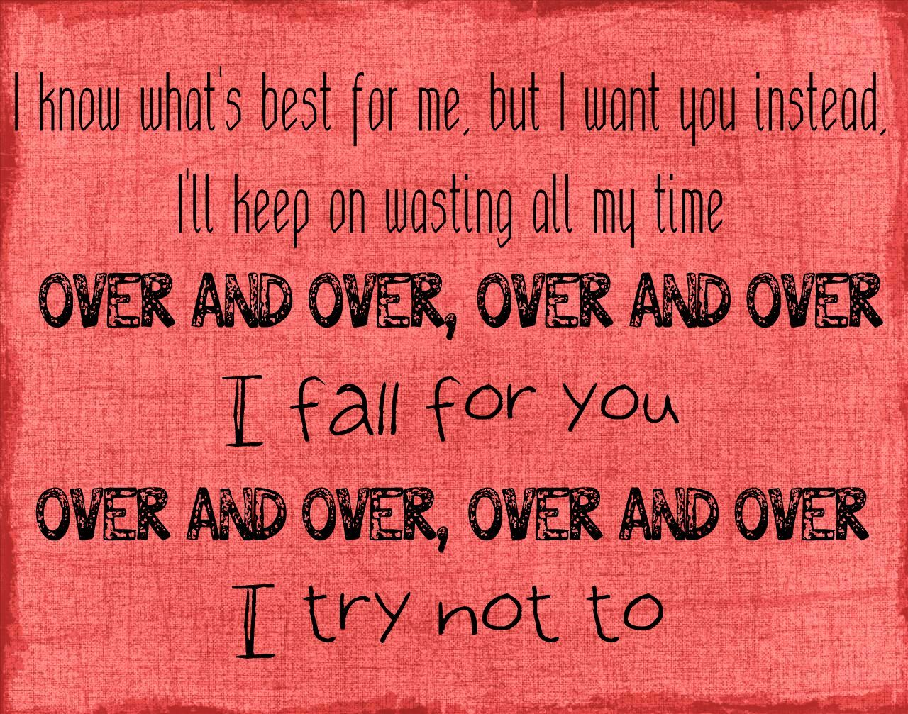 Three Days Grace -Over and Over