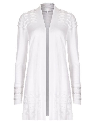 Open Front Textured Cardigan   M&S - £39.50