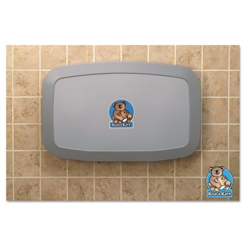 Koala Kare Horizontal Baby Changing Station Gray Includes One Each Learn More By Visiting The Image Li Changing Station Baby Changing Baby Changing Station